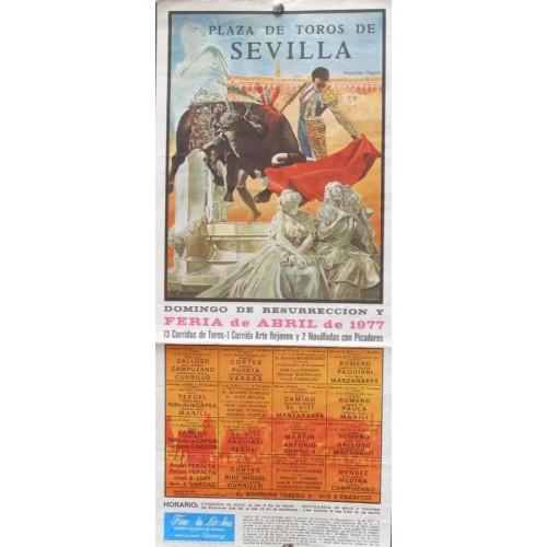 PLAZA DE TOROS DE SEVILLA.- 12 SEPTIEMBRE 1999 MED 15X30 CTM