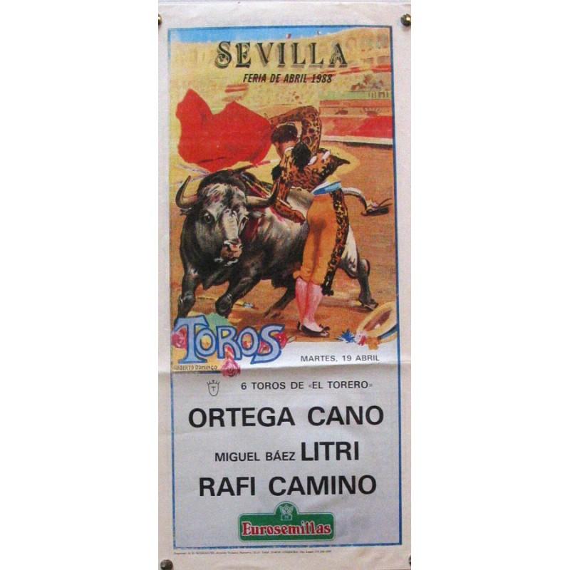 PLAZA DE TOROS DE SEVILLA 19 ABRIL 1988