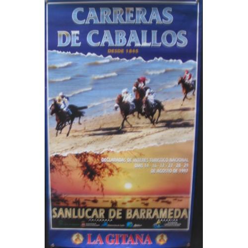 CARREARS DE CABALLO  AÑO 1997 MED 50 X 70 CTM