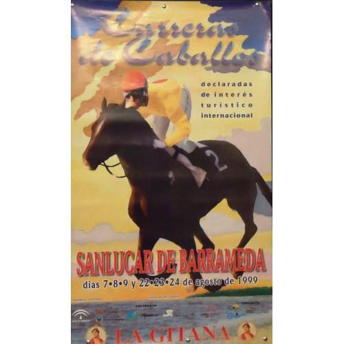CARREARS DE CABALLOS 1999.-  MED 50X 85 CTM 2 UNI