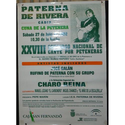 FLAMENCO .-PATERNA DE LA RIVERA.- AÑO 1952.- ME 50X70 CTM