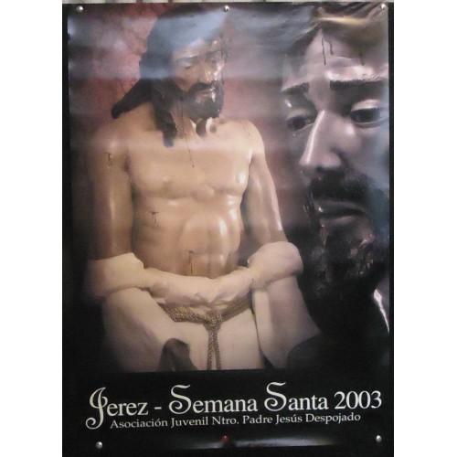 SEMANA SANTA DE JEREZ AÑO 2003  MED 50 X70 CTM