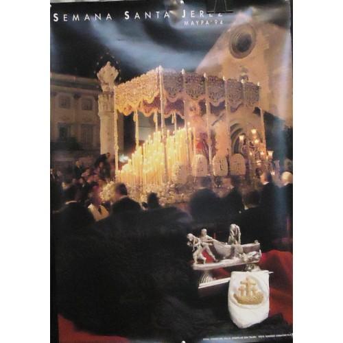 SEMANA SANTA DE JEREZ .- 1994 MED 50X 70 CTM