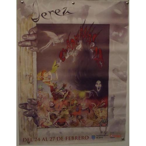 CARNAVAL DE JEREZ AÑO 2000 MED 43X57 CTM