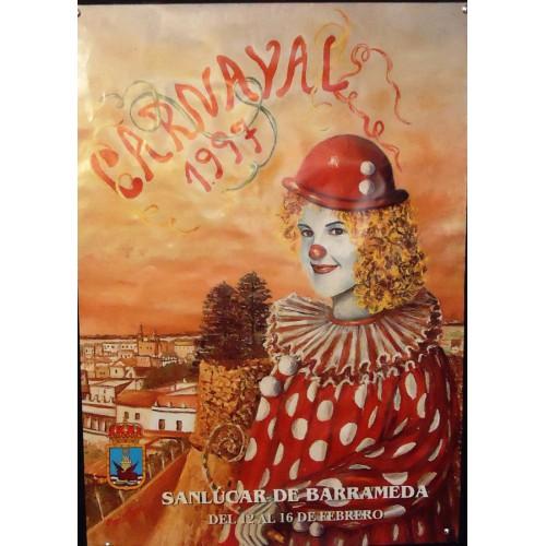 CARNAVAL  DE  SANLUCAR.-  1997.- MED 50 X 70 CTM