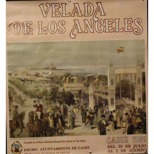 CADIZ  VELADA LOS ANGELES  AÑO 1989