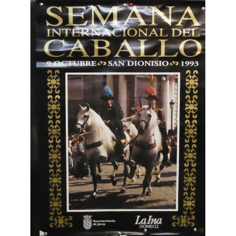 SEM. INTER. DEL CABALLO.-JEREZ AÑO 1993.- MED 50X70 CTM