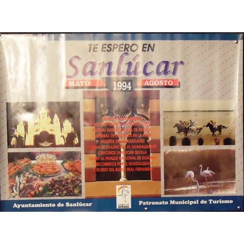SANLUCAR .- LAM PUBLICIDAD 1ÑO 1994  MED 49X 67 CTM