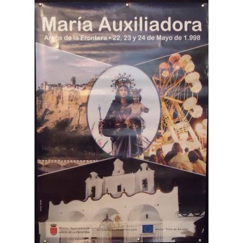 ARCOS DE LA FTRA.- MARIA AUXILIADORA.- AÑO 98.- MED48X68CTM