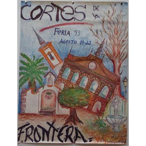 FERIA DE C0RTES  DE LA FRONTERA.-AÑO 93.- MED50X65 CTM