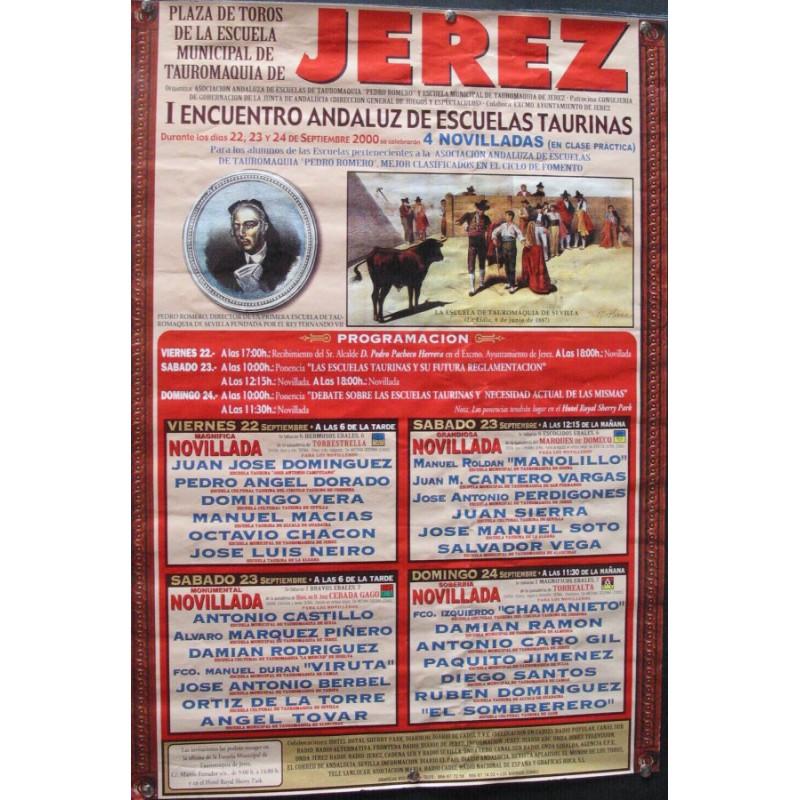PLAZA DE TOROS DE JEREZ 24 SEPTIEMBRE 2000.- MED 44X 64 CTM