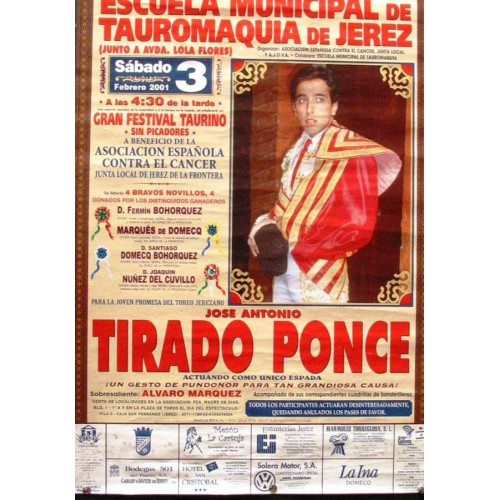 PLAZA DE TOROS DE JEREZ  3 FEVRERO 2001.- MED 44X64 CTM
