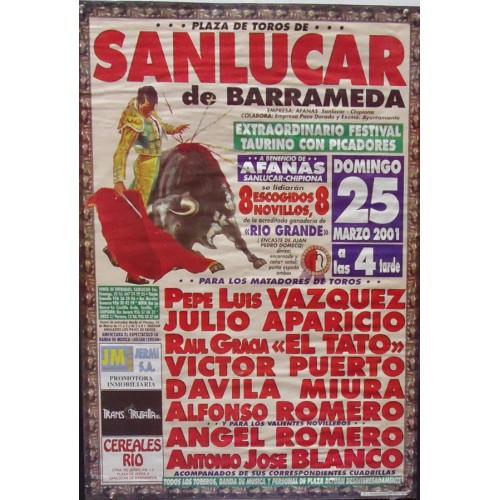 PLAZA DE TOROS DE SANLUCAR 25 MARZO 2001- MED 48 X 68 CTM