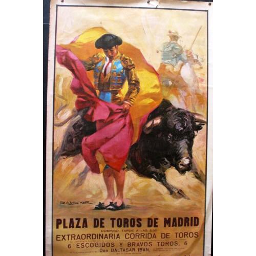 PLAZ DE TOROS DE MADRID.- MED 53 X96 CTM