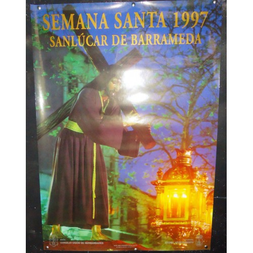 SEMANA SANTA  DE   SANLUCAR  1977     50X70CTM