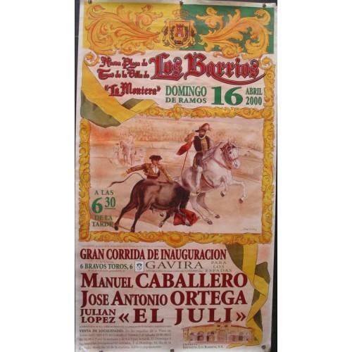 PLAZ DE TOROS DE LOS BARRIOS.- 16 ABRIL.2000 MED 48X89 CTM