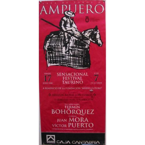 PLAZ DE TOROS DE AMPUER0.- 17 JUNIO 2000.- MED 44X 97 VTM