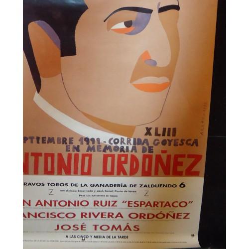 PLAZ DE TOROS DE RONDA.- AÑO 19934.- MED 60X 100