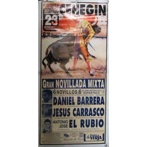 PLAZ DE TOROS DE CEHEGIN.- ABRIL 1902-MED 33X67
