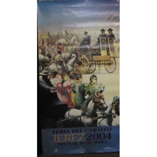 Feria de Jerez año 2001 med 60 x100 ctm 2 unid