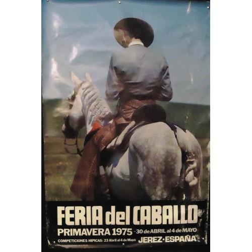 FERIA DE JEREZ.- AÑO 1975.- MED 70 X 100 CTM