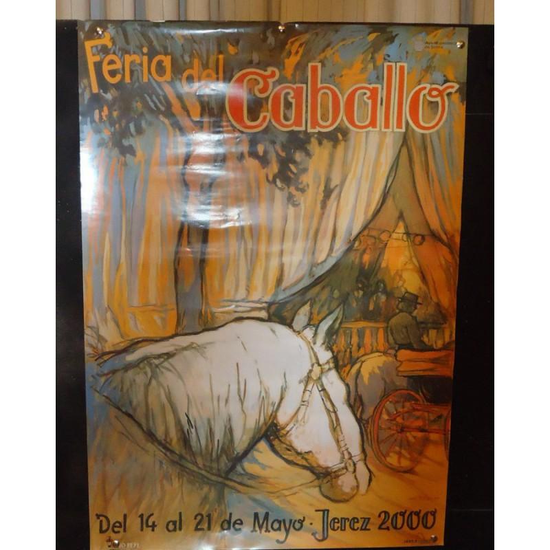 Feria de Jerez aaño 2000.- med 50x70 ctm