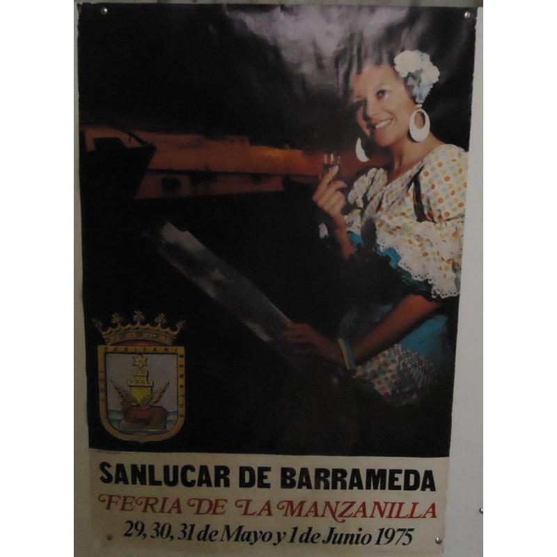 FERIA DE LA MANZANILLA.-  AÑO 1975.- MED 50 X 70 CTM   5 UNID.-