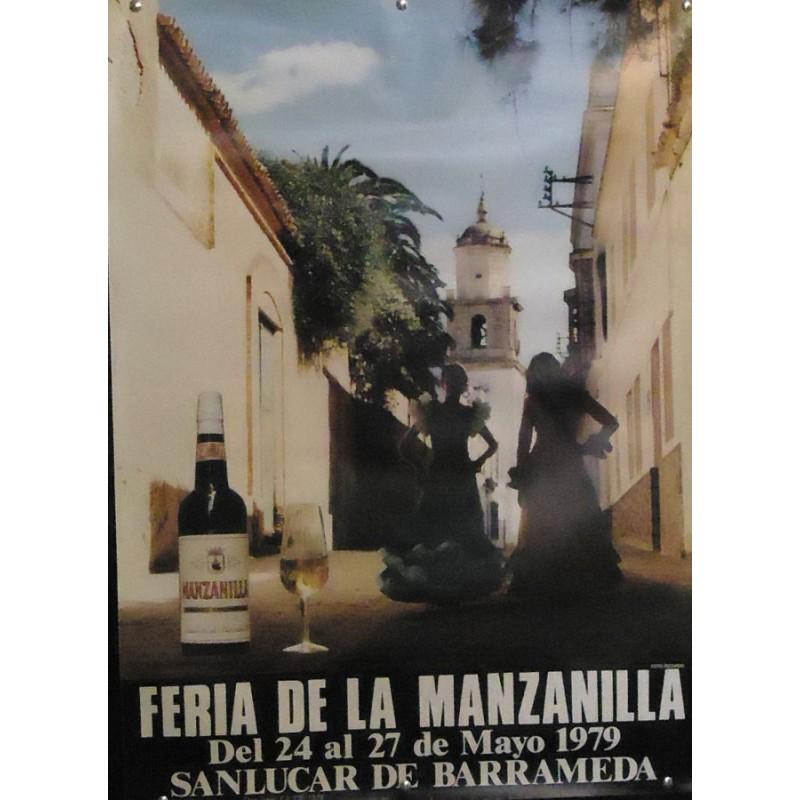 FERIA DE LA MANZANILLA.- AÑO 1979.- MED 50 X 70 CTM      7 UNI