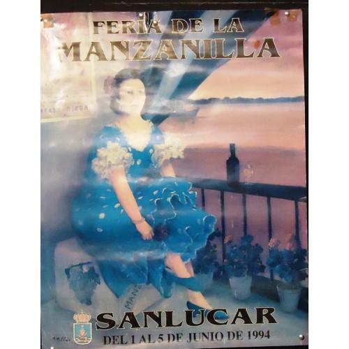 FERIA DE LA MANZANILLA.- 1994.- MED 50X 65 CTM.-