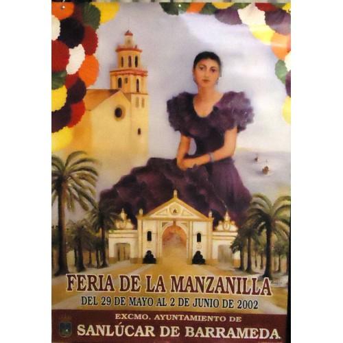 FERIA DE LA MANZANILLA.- AÑO 2002.- MED 60X 90 CTM.-    2UNI