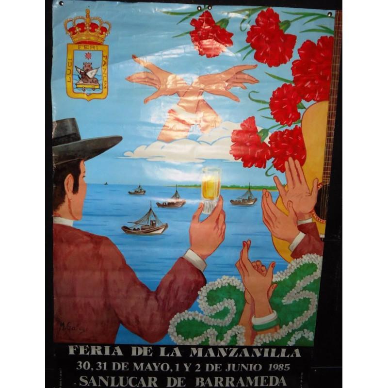 FERIA DE LA MANZANILLA.- AÑO          MED 50X 70 CTM