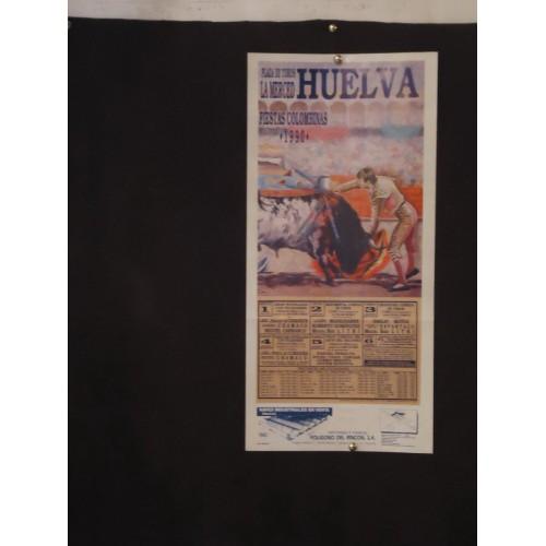 PLA DE TOROS DE HUELVA.- 1-8-90- MED MED 22 X 44 CTM