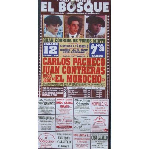PLA DE TOROS DE EL BOSQUE.- 21 JUNIO 1999.- MED 15X30 CTM