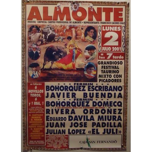 PLAZ DE TOROS DE ALMONTE.- 2-7-2001.- MED 48X70