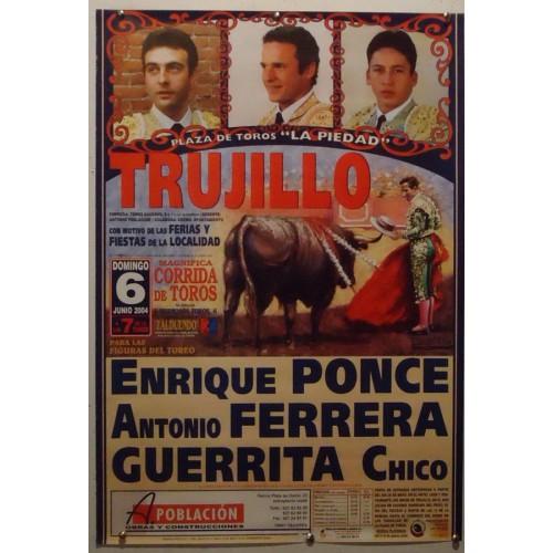 PLAZ DE TOROS DE TRUJILLO.-6-6-2004-MED 44X65 CTM