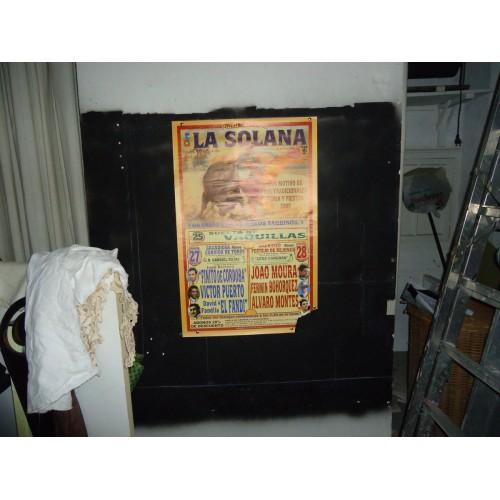 PLAZ DE TOROS DE LA SOLANA 25 julio 2002- med 45x 69 ctm