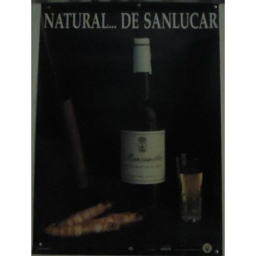 LAMINA PUBLICITARIA MANZANILLA DE SANLUCAR