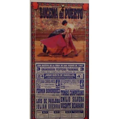 PLAZA DE TOROS DE LUCENA DEL PUERTO-24-01-97- 17X34CTM
