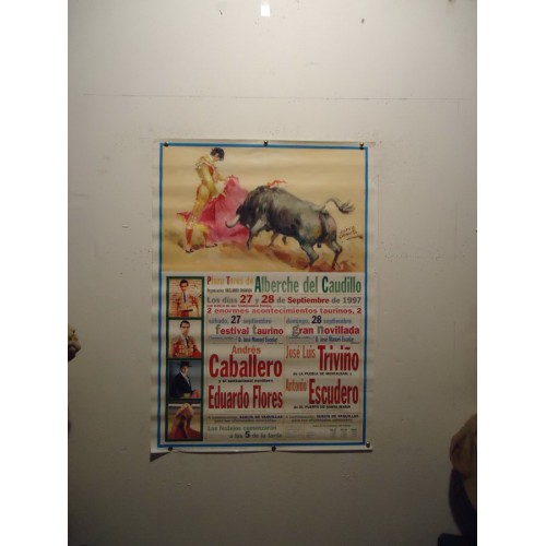 PLAZ DE TOROS DE ALBERCHE DEL CAUDILLO.-27-9-97- 50X70