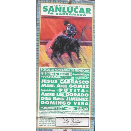 PLAZA DE TOROS DE SANLUCAR.- 11-9-99 MED 15X30 CTM