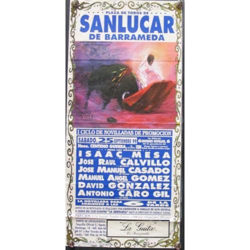 PLAZA DE TOROS DE SANLUCAR.- 25-09-99
