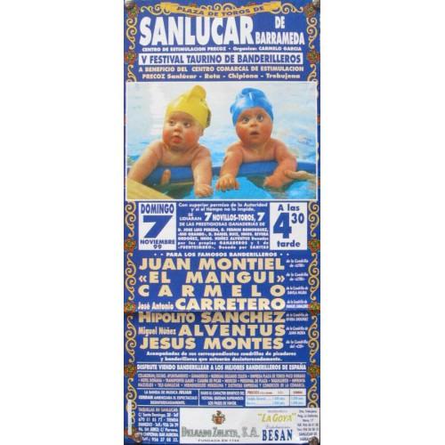 PLAZA DE TOROS DE SANLUCAR.- 20-10-99.- MED 20X45 CTM