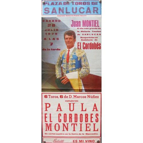 PLAZA DE TOROS DE SANLUCAR.- 28-7-79 MED 25X42 CTM