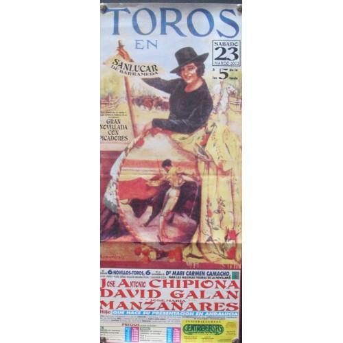 PLAZA DE TOROS DE SANLUCAR.-23-3-2002 MED 19X 44 CTM