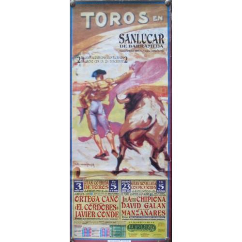 PLAZA DE TOROS DE SANLUCAR.-DEL2AL23-3-2002-MED 20X45 CT