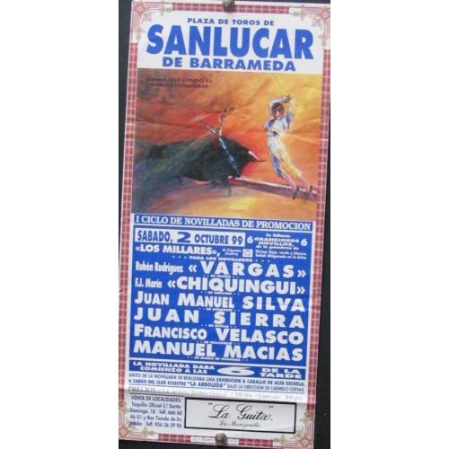 PLAZA DE TOROS DE SANLUCAR.-2-10-99- MED 15X35 CTM