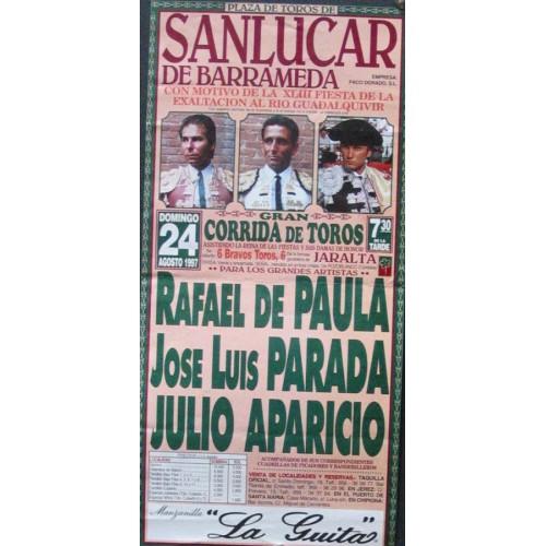 PLAZA DE TOROS DE SANLUCAR-24-8-97.- MED 15X30 CTM