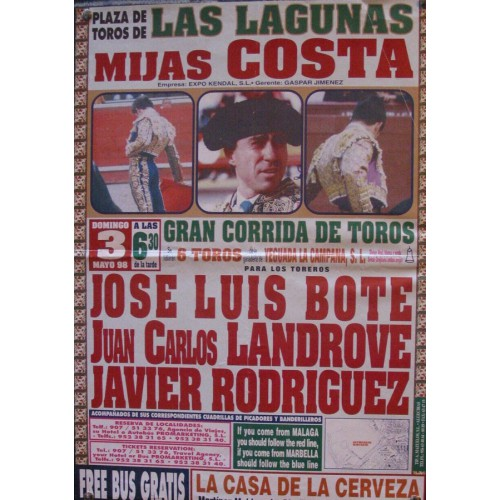 PLAZ DE TOROS DE MIJAS.- 3 MAYO 98.- MED 30X 42 CTM