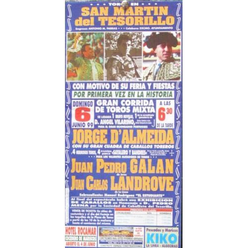 PLAZ DE SAN MARTIN DEL TESORILLO.-6 JUNIO 99-MED 15X30 CTM