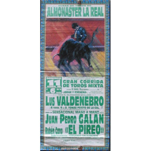 PLAZ DE ALMONASTER LA REAL.- 1 ABRIL 99.- 15X32CTM